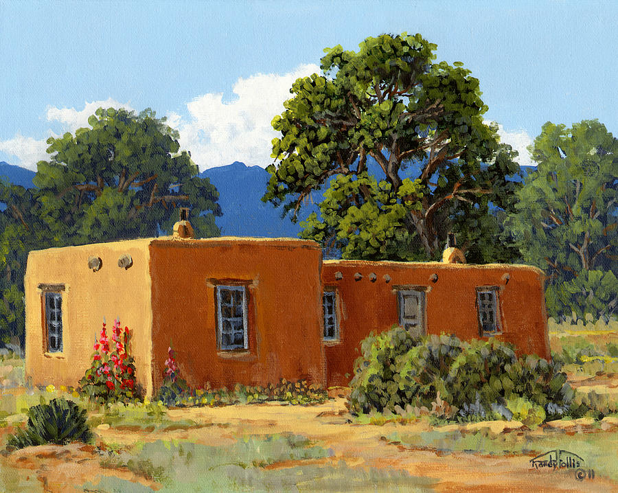 Adobe  - New Mexico Adobe by Randy Follis