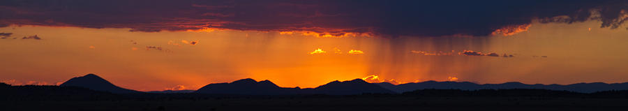 New Mexico Sunset by Atom Crawford