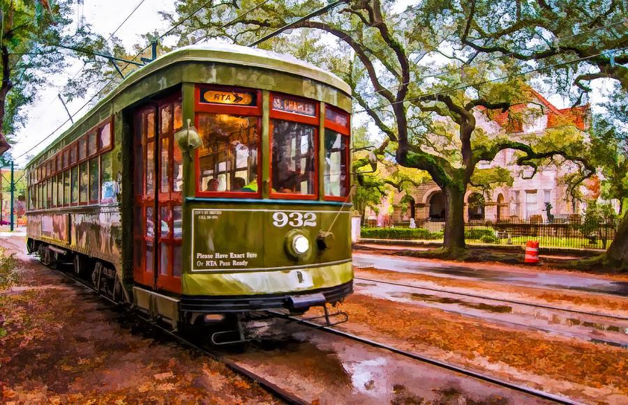 Garden District Photograph - New Orleans Classique Oil by Steve Harrington