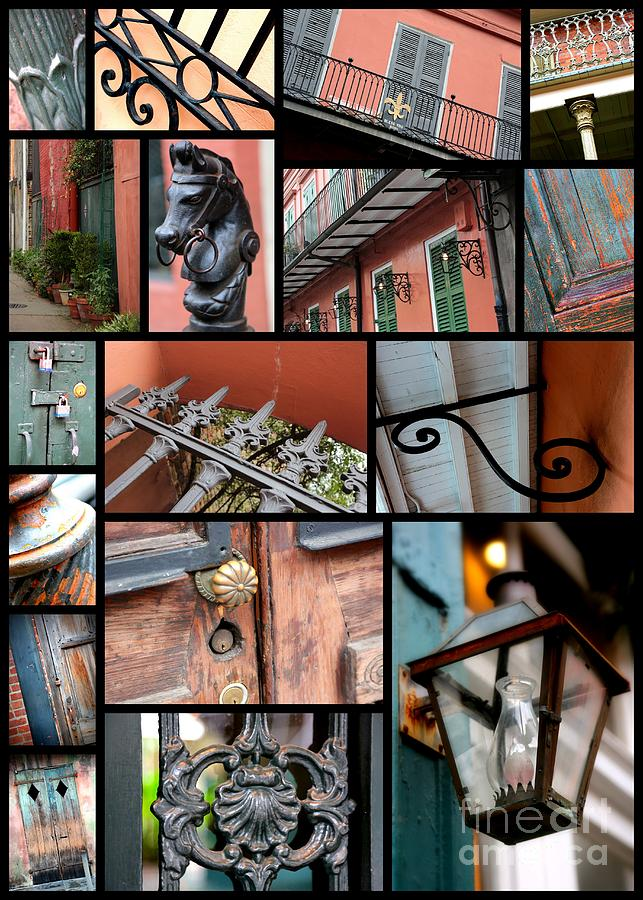 New Orleans Photograph - New Orleans Collage 2 by Carol Groenen