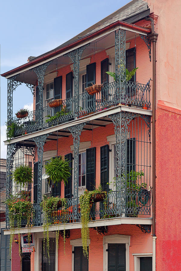 New Orleans Colorful Homes Photograph