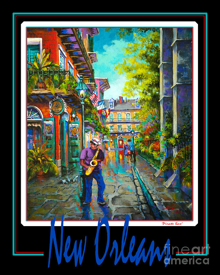 Jazz Painting - New Orleans by Dianne Parks