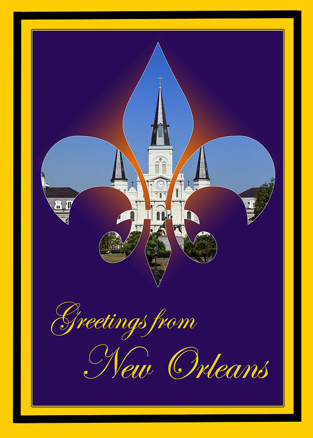 New orleans greetings photograph by cecil fuselier new orleans photograph new orleans greetings by cecil fuselier m4hsunfo