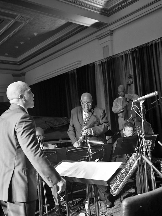 Nojo Photograph - New Orleans Jazz Orchestra by William Morgan