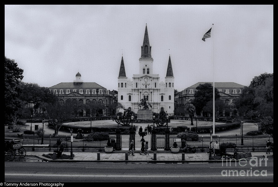 New Orleans Photograph - New Orleans La by Tommy Anderson