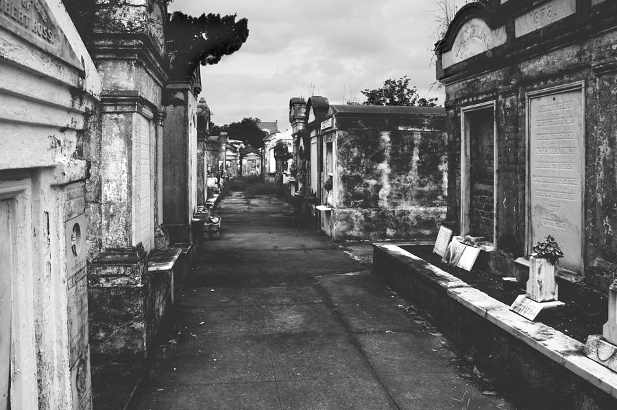 Lafayette Photograph - New Orleans Lafayette Cemetery by Christine Till