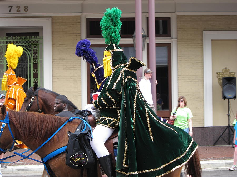 New Photograph - New Orleans - Mardi Gras Parades - 121258 by DC Photographer