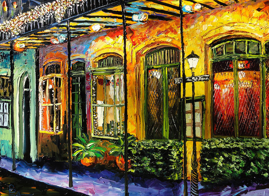 new orleans original painting painting by beata sasik