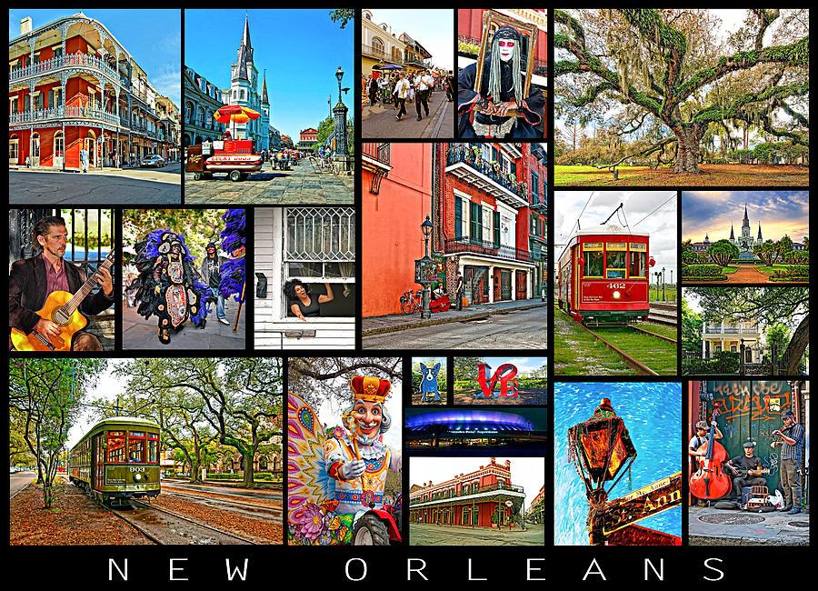 New Orleans Photograph - New Orleans by Steve Harrington