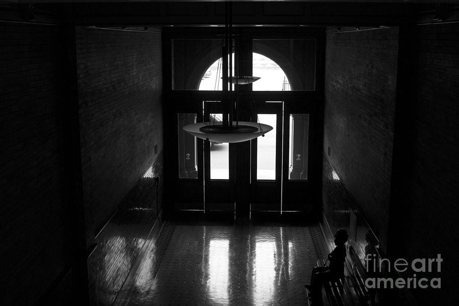 Bladerunner Photograph - New Photographic Art Print For Sale Bradbury Building 12 Downtown La by Toula Mavridou-Messer