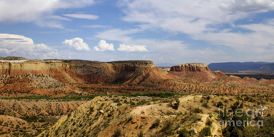 Ghost ranch landscape new mexico 12 photograph by toula for Large photographic prints for sale