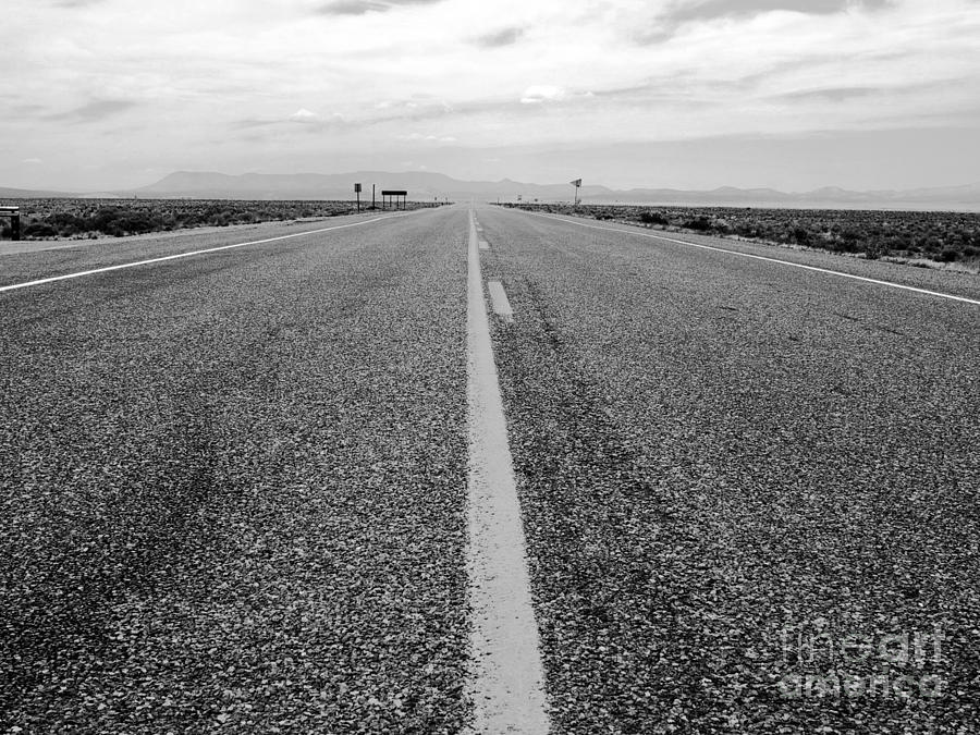 New Photographic Art Print For Sale Long Road Through New