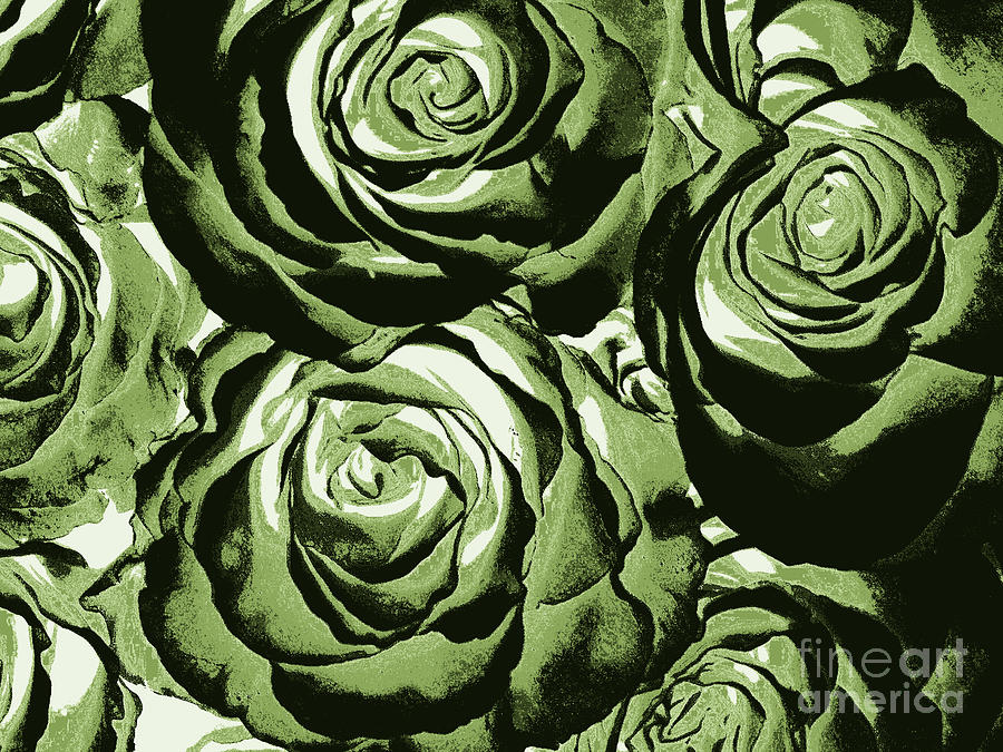 New photographic art print for sale pop art camo green for Large photographic prints for sale
