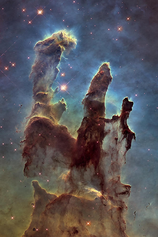 3scape Photograph - New Pillars of Creation HD Tall by Adam Romanowicz