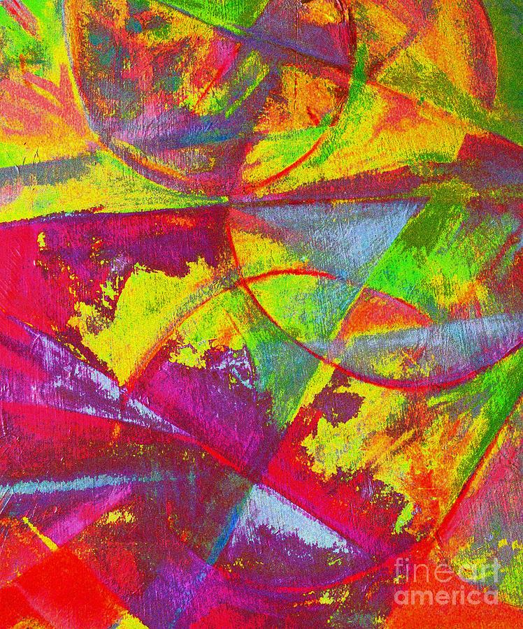 Colorful Digital Art - New Planets by Robert Daniels