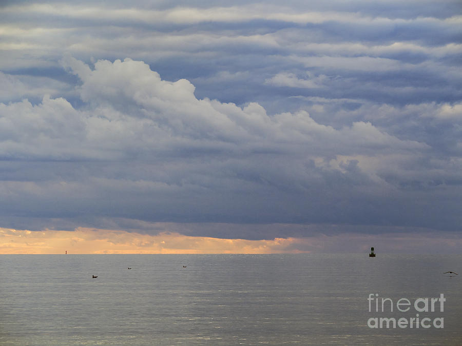New Silver Beach Sunset 091613-01 by Gene  Marchand