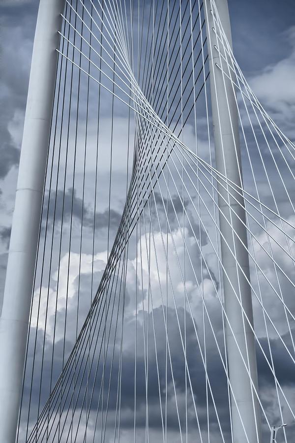 Bridge Photograph - New Skyline Bridge by Joan Carroll