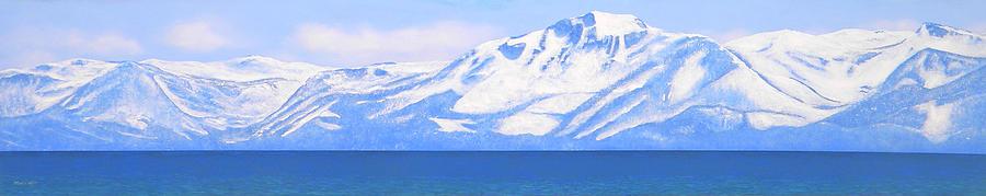 New Snow Lake Tahoe Painting