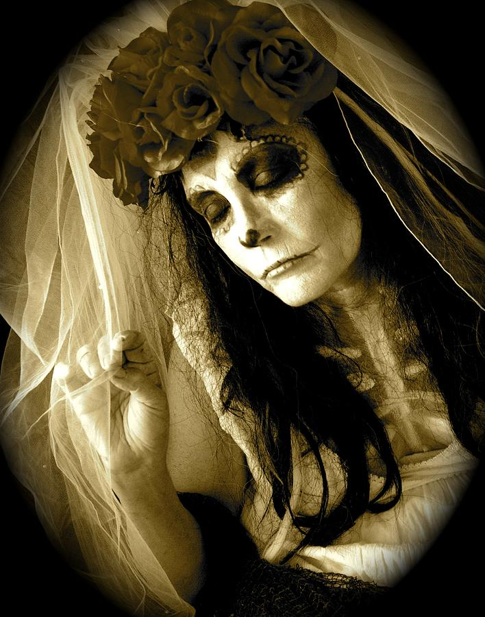 Bride in Repose by Julie Komenda