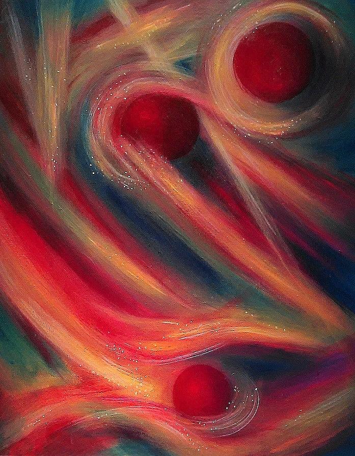 Abstract Painting - New Vision by Thomas Lupari