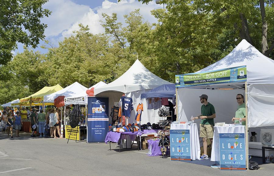 New West Fest 2013, Fort Collins Photograph by RiverNorthPhotography