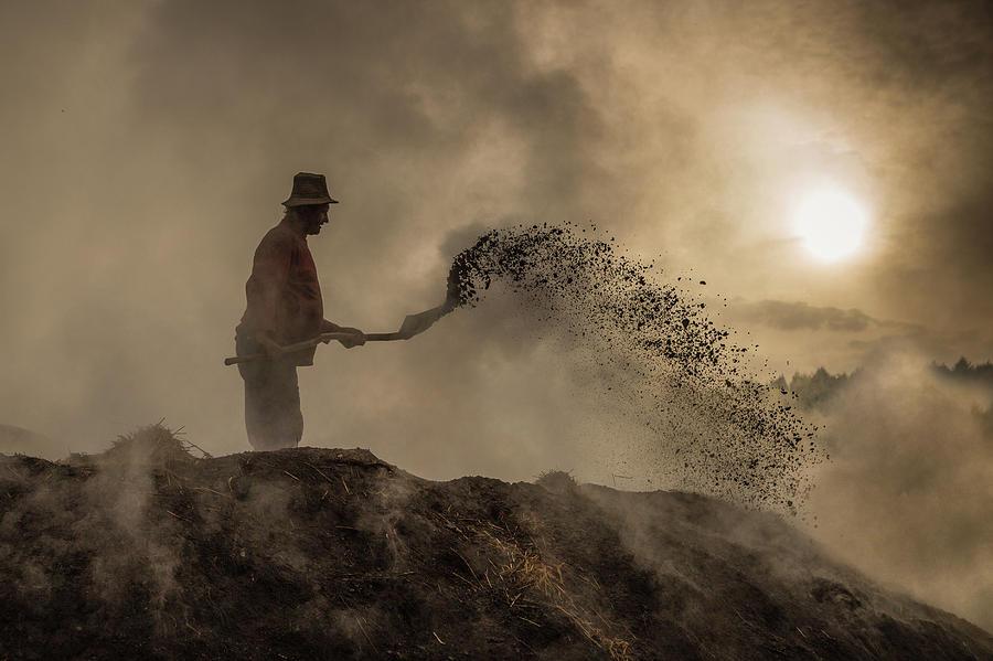 Sun Photograph - New World Creation by Adrian Popan