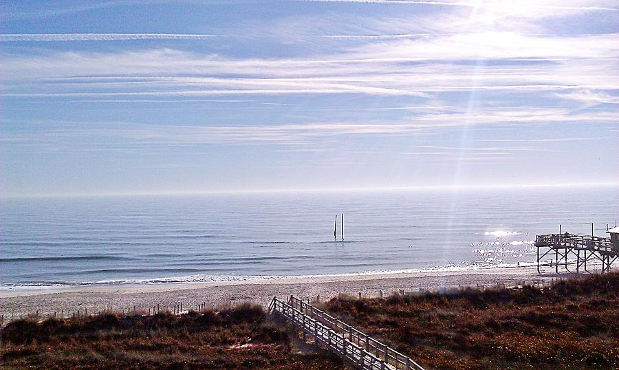 Beach Photograph - New Year Carolina Beach by Joan Meyland