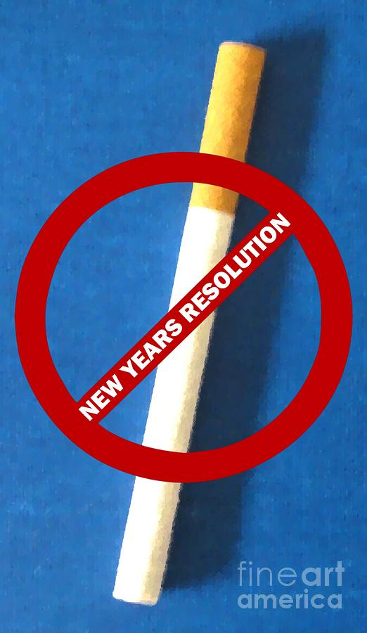 Cigarette Photograph - New Years Resolution by Margaret Newcomb