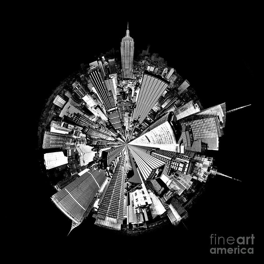 Empire Photograph - New York 2 Circagraph by Az Jackson
