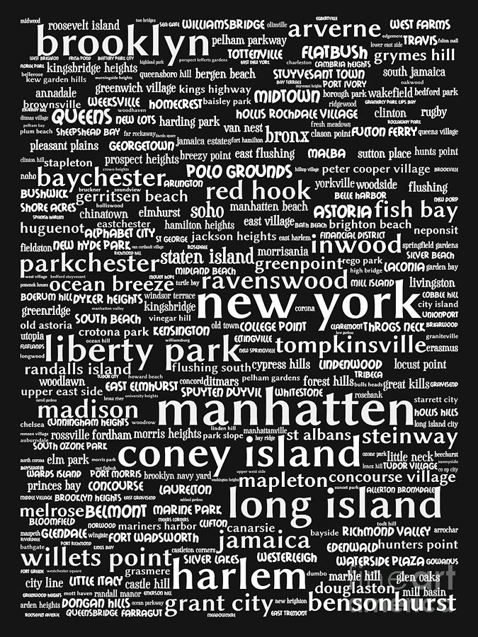 Newyork Digital Art - New York 20130709bw by Wingsdomain Art and Photography