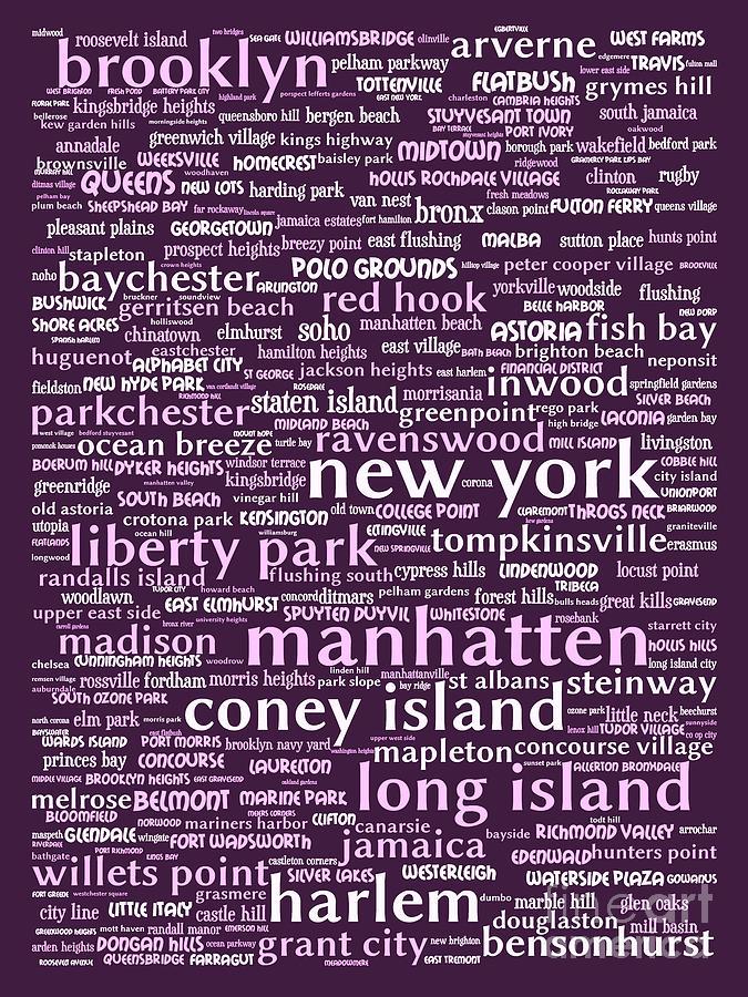 Newyork Digital Art - New York 20130709bwma by Wingsdomain Art and Photography