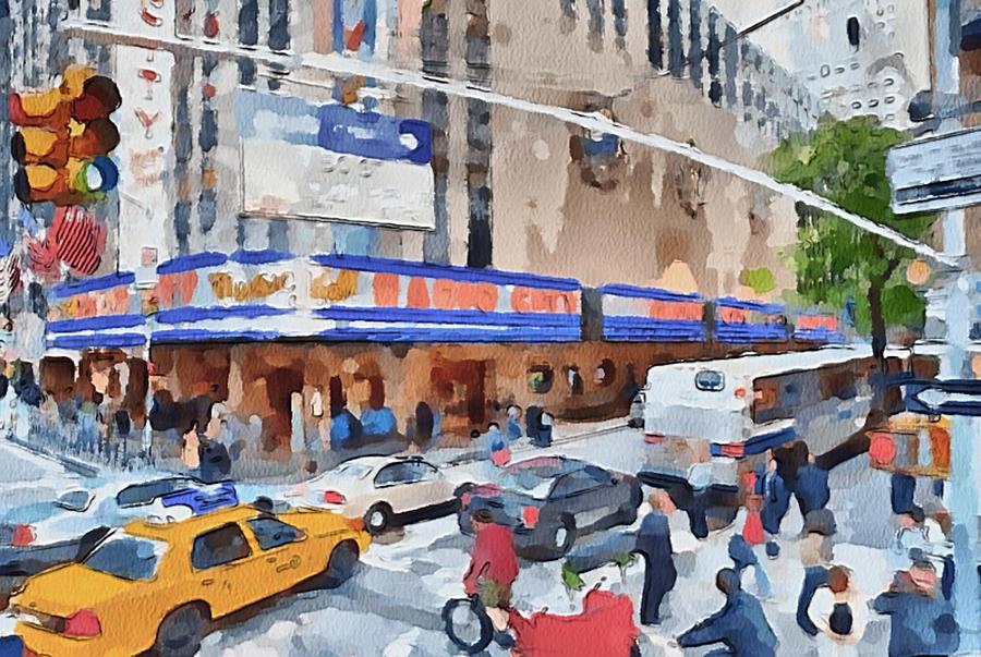 New Digital Art - New York 4 by Yury Malkov