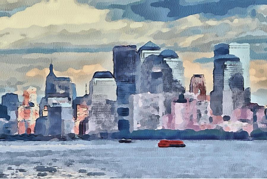 New Digital Art - New York 7 by Yury Malkov