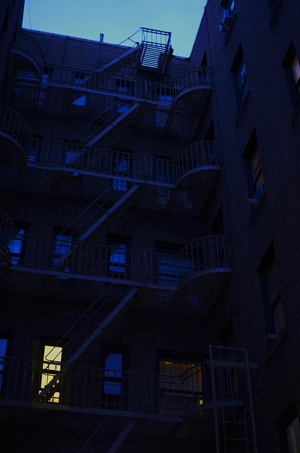 New York City Photograph - New York Apartments by Melissa Schumacher