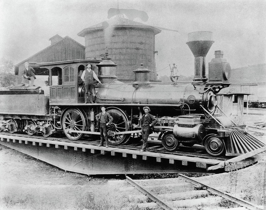 1880 Photograph - New York Central, 1880 by Granger