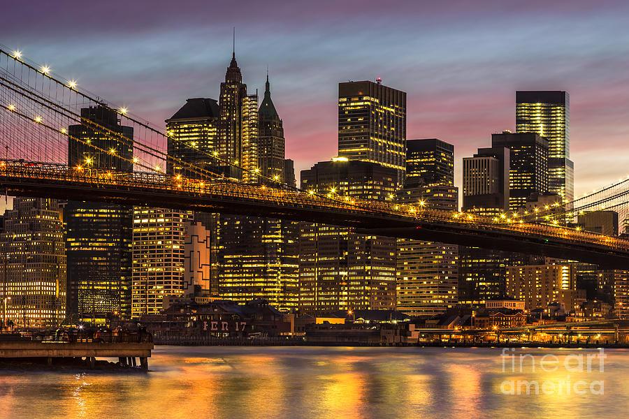 New York Photograph - New York City 14 by Tom Uhlenberg
