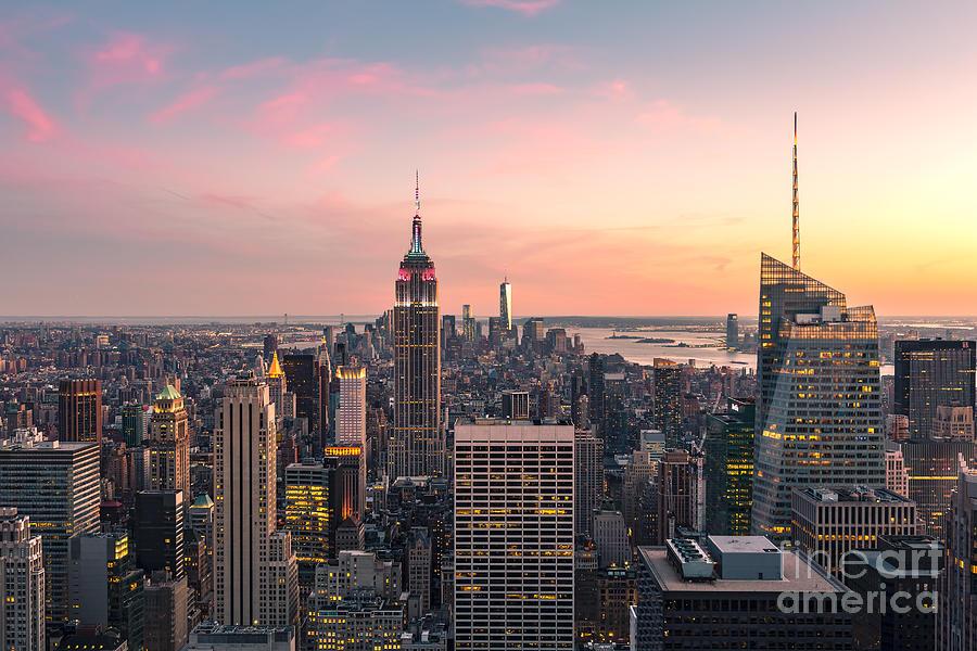 New York Photograph - New York City 17 by Tom Uhlenberg