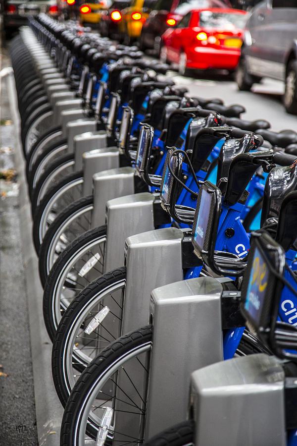 New York City Bikes Photograph