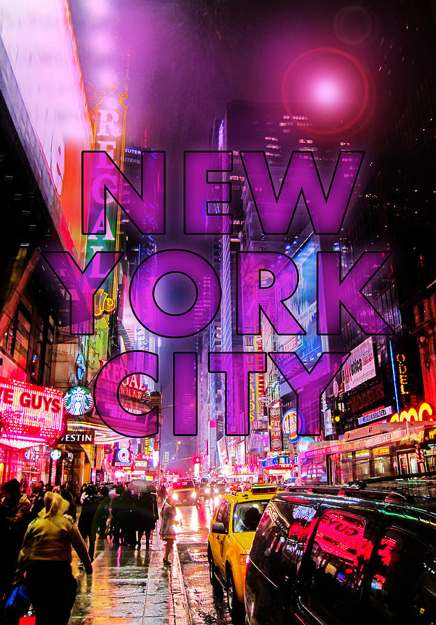 New York Photograph - New York City - Color by Nicklas Gustafsson