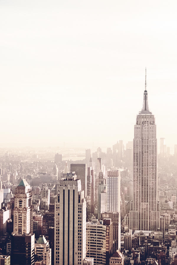 Nyc Photograph - New York City - Empire State Building by Vivienne Gucwa