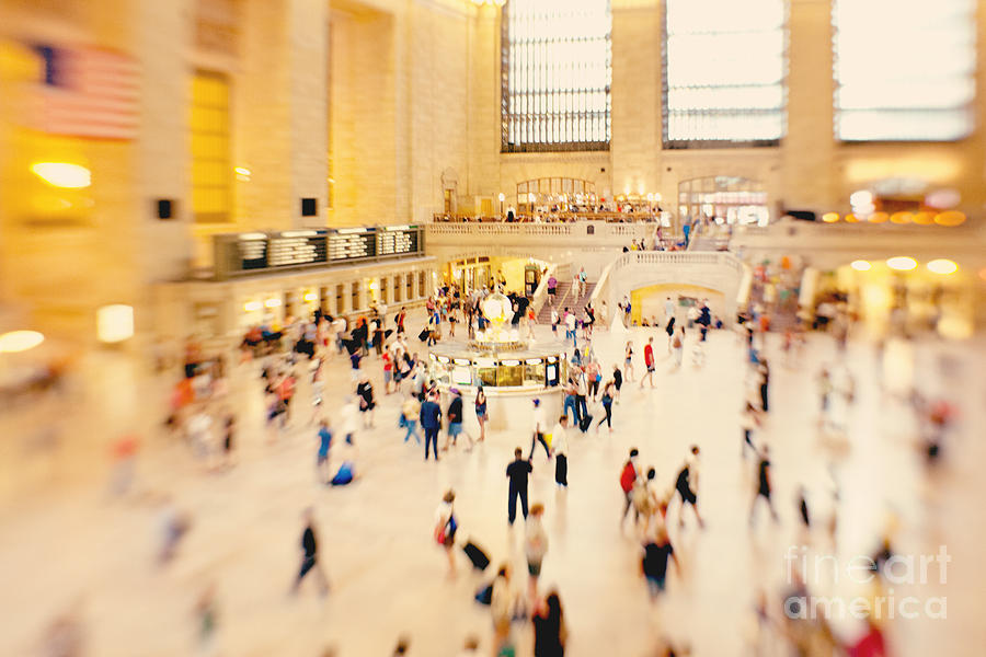 Nyc Photograph - New York City Grand Central Terminal by Kim Fearheiley