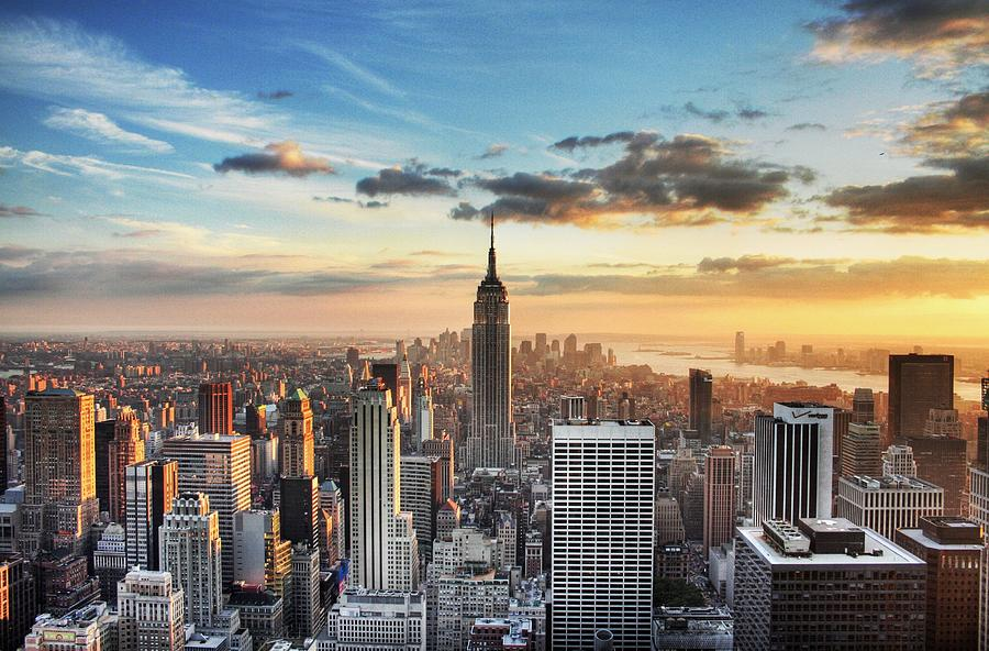 New York City HDR Photograph by Oliver Lopez Asis