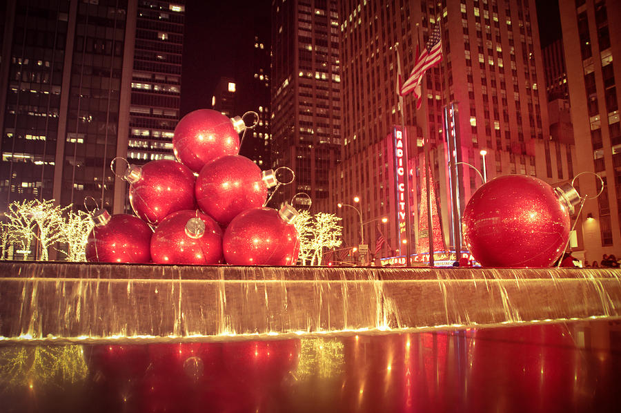 new york city photograph new york city holiday decorations by vivienne gucwa - Holiday Decorations