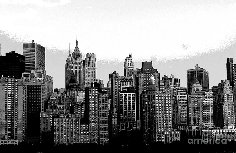 New York Photograph - New York City by Kathleen Struckle