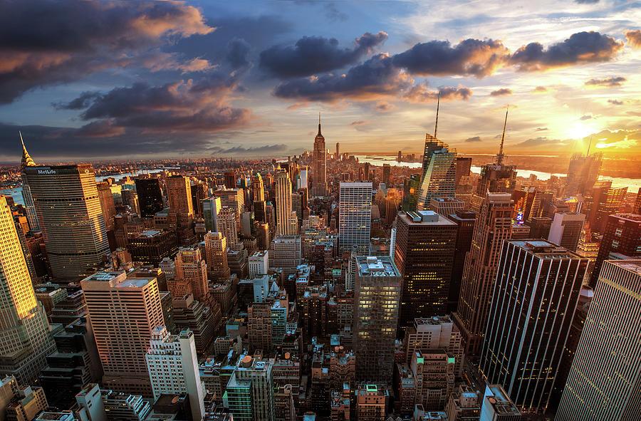 New York City Skyline Photograph by Dominic Kamp Photography