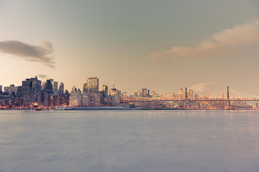 Nyc Photograph - New York City - Skyline Dreamscape by Vivienne Gucwa