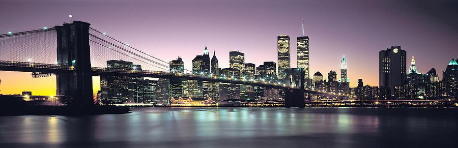 New York City Skyline Photograph - New York City Skyline by Jon Neidert