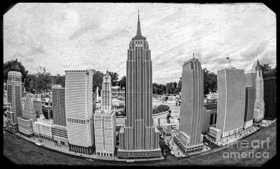 Florida Photograph - New York City Skyline - Lego by Edward Fielding