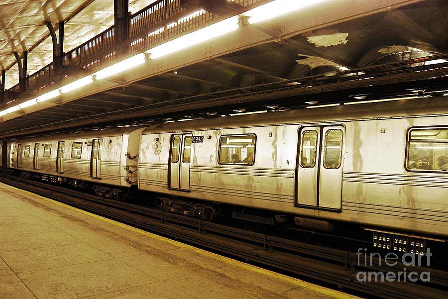 Sarah Loft Photograph - New York City Subway 2 by Sarah Loft