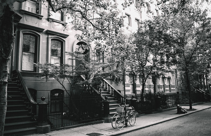 Nyc Photograph - New York City - Summer - West Village Street by Vivienne Gucwa